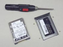 thinkpad用SSDへ交換