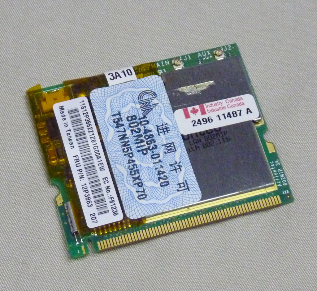 中古 無線LANカード 12P3863