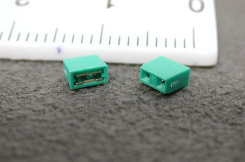 2.5インチHDD用 ショートピン2個組み 緑