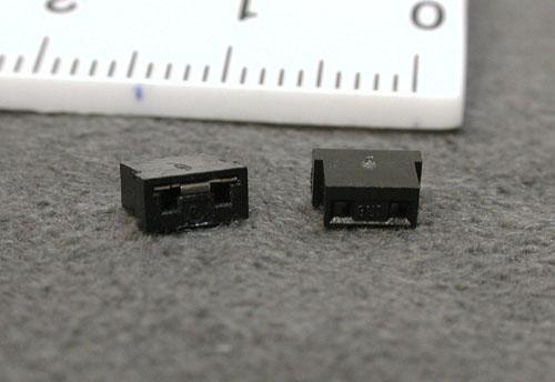 3.5インチHDD用 ショートピン2個組み 黒
