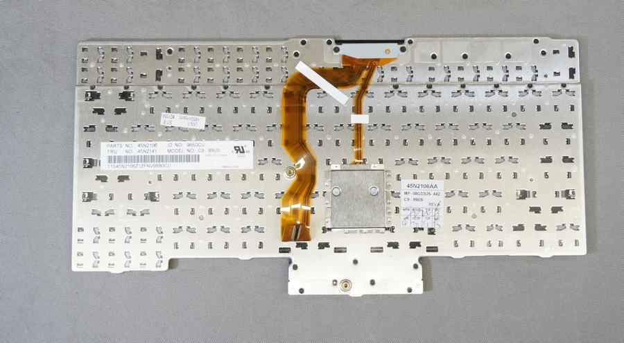 ThinkPad T400s T410用 英語キーボード 引き抜き品