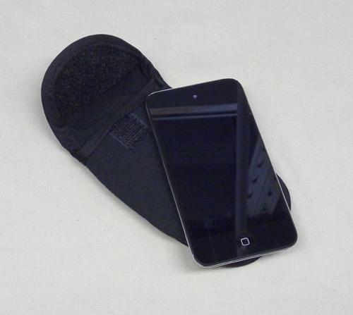 IBMマーク 携帯電話入れ 黒