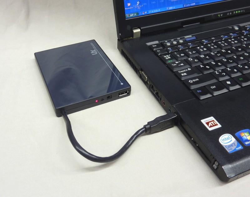 USB3.0 USB2.0対応 USB-SSD/HDDケース