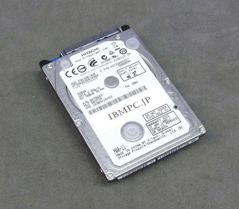 ThinkPad用 新品バルクHDD SATA 5400回転 500G08M7mm